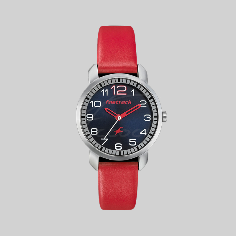 FASTRACK WOMEN RED WATCH - 6111sl02 | Eccoci Fastrack Watches For Women New Arrivals